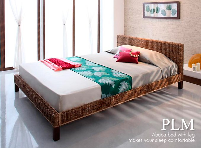 アジアンテイスト ベッド