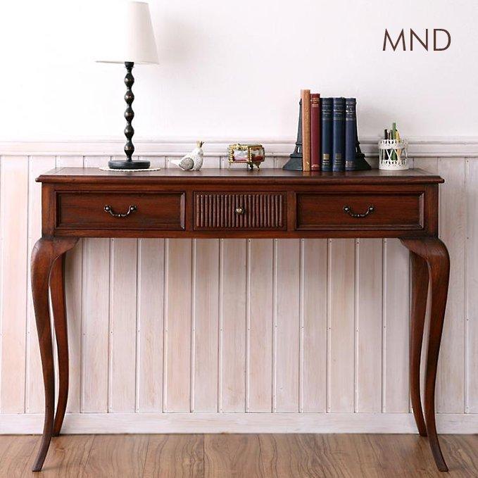 アンティーク調デザイン家具【MND】コンソールテーブル