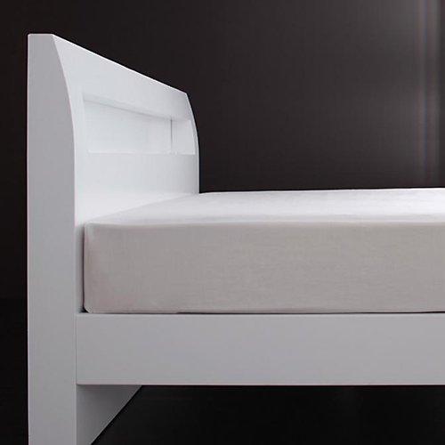 シンプル&スタイリッシュ!モダンデザインすのこベッド【ALM】 【2】