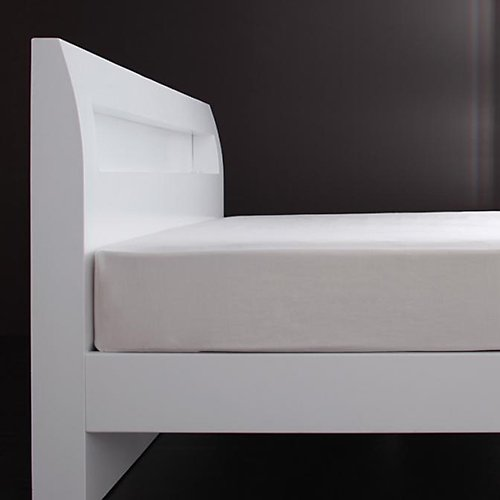 シンプル&スタイリッシュ!モダンデザインすのこベッド【ALM】 【3】