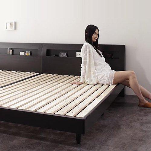 シンプル&スタイリッシュ!モダンデザインすのこベッド【ALM】 【6】