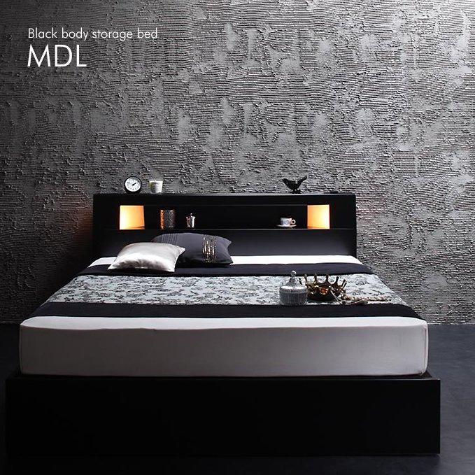 機能性抜群のスマート収納ベッド