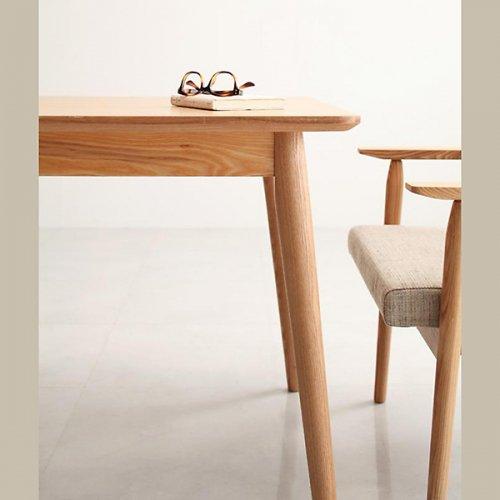 北欧風モダンデザイン!ソファダイニングテーブルセット【WDL】4点セット 【10】