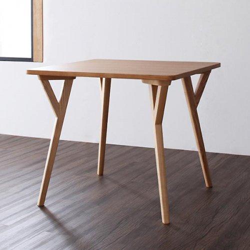 北欧風デザインダイニングテーブルセット【ILL】3点セット 【3】