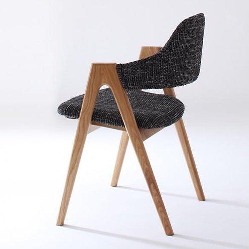 北欧風デザインダイニングテーブルセット【ILL】3点セット 【6】