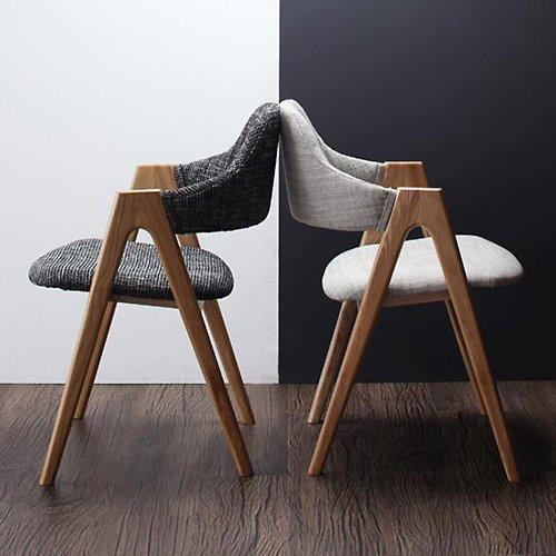 北欧風デザインダイニングテーブルセット【ILL】3点セット 【7】