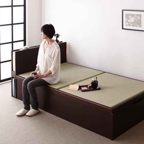 和モダンな畳仕様!大容量収納リフトアップベッド【TKH】 【2】