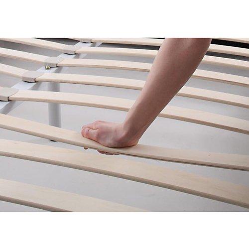 スーパーソフトレザー・ラグジュアリーデザイン流線型ベッド【FTN】(レギュラーサイズ) 【9】