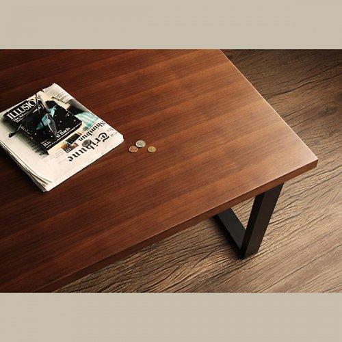ヴィンテージデザイン・リビングダイニングテーブルセット【CSC】4点オットマンセット 【8】