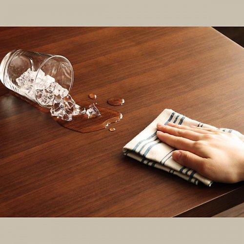ヴィンテージデザイン・リビングダイニングテーブルセット【CSC】4点オットマンセット 【9】