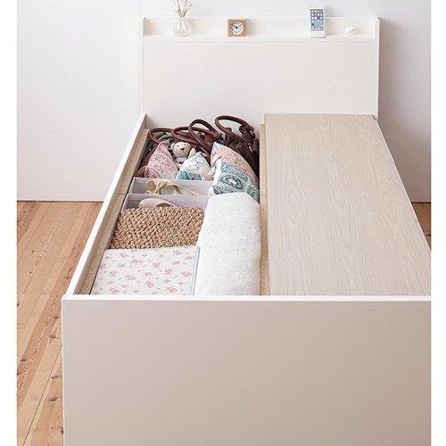 日本製・安心の品質!コンパクトデザイン・ショートサイズチェストベッド【RFS】 【3】