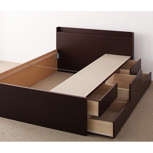 日本製・安心の品質!コンパクトデザイン・ショートサイズチェストベッド【RFS】 【5】