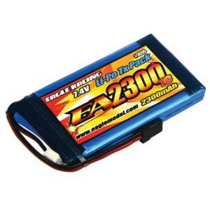 Li-Poバッテリー EA2300/2S 7.4V 1C TXパック(M11X用)[3699U]