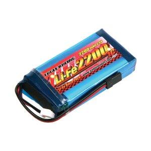 Li-Feバッテリー EA2200/6.6V 1C 送信機用平型(4PK)[3377]