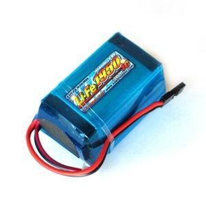 Li-Feバッテリー EA1950/6.6V 1C 受信機用俵型サイズ[3352V2U]