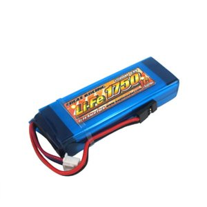 Li-Feバッテリー EA1750/6.6V 1C MT-4 平型RX用サイズ[3351V2U]