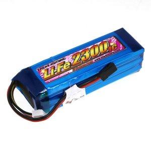 Li-Feバッテリー EA2300/9.9V 1C 送信機用筒型[3354V2]