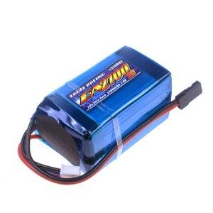 Li-Poバッテリー EA2700/7.4V 1C 受信機用俵型サイズ[3198V2U]
