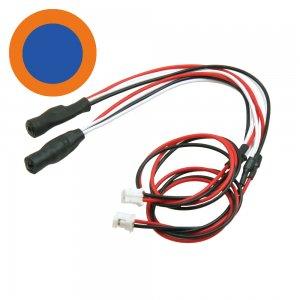 3mmツインアクションイカリング・LEDシステム用[中BL外OR][LED-08-BL/OR]