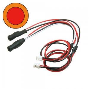 3mmツインアクションイカリング・LEDシステム用[中RE外OR][LED-08-RE/OR]