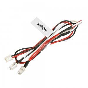5mmエディショナルLEDライトセット(2灯)-ホワイト[NLD05LP-WI]