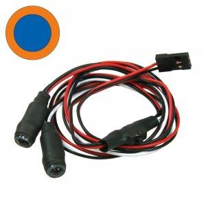 5mmイカリングLEDライト・タイプ1[中BL外OR]4.8~6V対応[LED-05-BL/OR]