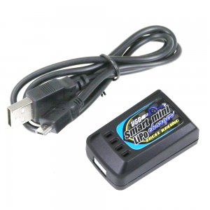 Li-Poバランシングスマートミニチャージャー 2S用USB5V2A対応[3900-SM-LIPO]