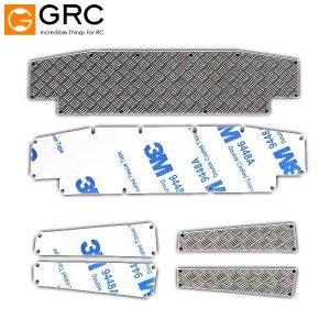 GRC ステンレス バンパー ダイヤモンドプレートセット SL トラクサス TRX-4 Defender [GAX0067]
