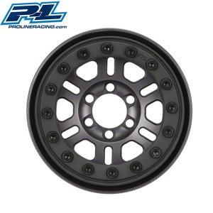 プロライン Pro-Forge FaultLine 1.9inch Bead Loc 6 Lug Wheels GM for トラクサス TRX-4 [2764-02]