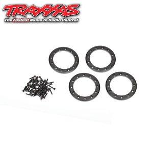 トラクサス 1.9inch アルミビードロックリング ブラック [8169T]