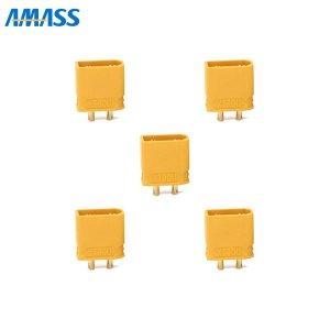 AMASS 純正XT30Uコネクター オス5個セット[185057]