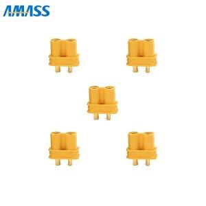 AMASS 純正XT30Uコネクター メス5個セット[185064]