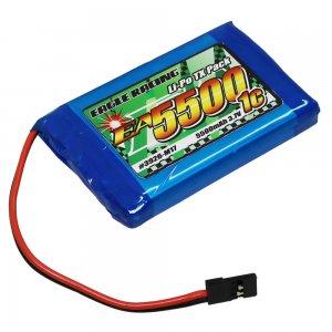 Li-Poバッテリー EA5500/3.7V1C M17送信機用平型サイズ[3926-M17]