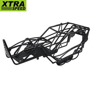 Xtra Speed V Steel Cage Black V2 トラクサス TRX-4[XS-TX28083]