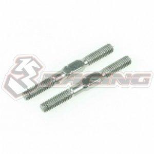 3レーシング 64チタン3mmターンバックル 28mm(2pcs)[3RAC-TR328]