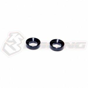3レーシング ADVANCE 2K18 EVO 4mm ステアリングフラットヘッドワッシャー[SAK-A529/D]