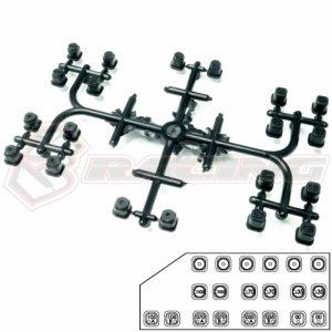3レーシング Advance 20 サスマウントナット[SAK-A545]