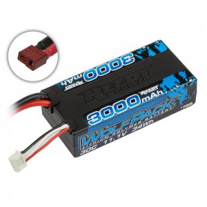 アソシエイテッド Reedy Wolfpack LiPo 3000mAh 30C 11.1V Shorty with T-plug[759]