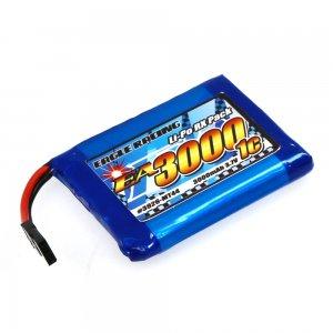 イーグル Li-Poバッテリー EA3000/3.7V1C MT44送信機用平型サイズ[3926U-MT44]