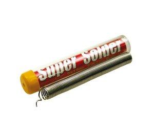 スーパーソルダー(φ1mm フラックス2% ウェイト14g)