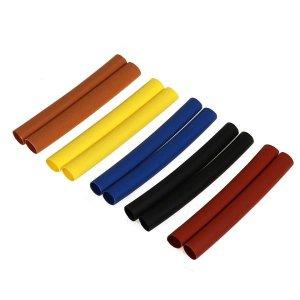 5カラー収縮チューブ 5mm 各2pcs.[3124]