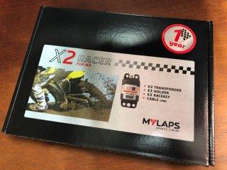 MYLAPS X2モトクロス トランスポンダー(本体&1年間のライセンス)