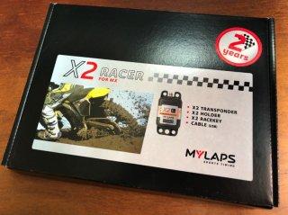 MYLAPS X2モトクロス トランスポンダー(本体&2年間のライセンス)