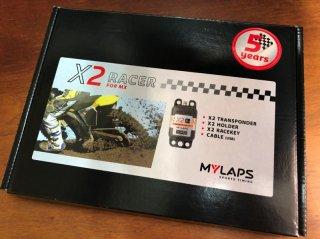 MYLAPS X2モトクロス トランスポンダー(本体&5年間のライセンス)