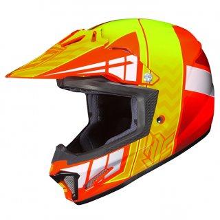 HJC CL-XY�CROSS UP キッズ用ヘルメット オレンジ