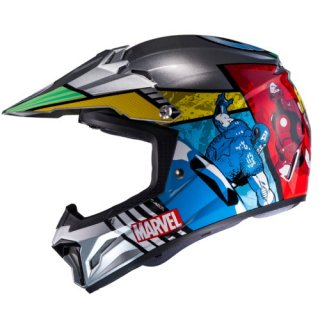 HJC CL-XY�アベンジャーズ キッズ用ヘルメット