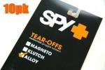SPY ALLOY&TARGA2 ゴーグル用 「ティアオフレンズ」(10枚パック)