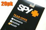SPY ALLOY&TARGA2 ゴーグル用 「ティアオフレンズ」(20枚パック)