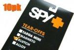 SPY KLUTH(クラッチ)用用 「ティアオフレンズ」(10枚パック)