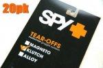 SPY KLUTH(クラッチ)用 「ティアオフレンズ」(20枚パック)